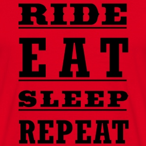 Ride Eat Sleep Repeat - Men's T-Shirt