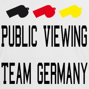 Public Viewing Germany T-Shirts - Frauen Kontrast-T-Shirt