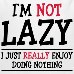 I'm not Lazy Sweats - Body bébé bio manches longues