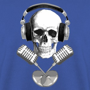 skull microphone Sweat-shirts - Sweat-shirt Homme