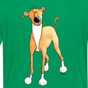 Morsom Greyhound - Dog - Hunder Skjorter - Premium T-skjorte for barn