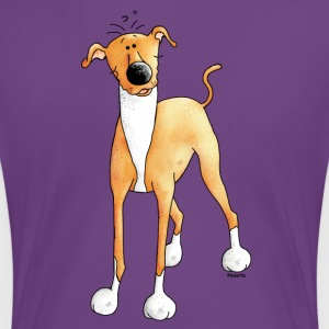 Funny Greyhound - Dog - Dogs T-Shirts - Women's Premium T-Shirt