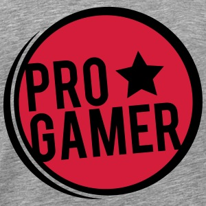 Pro Gamer round form T-Shirts - Men's Premium T-Shirt