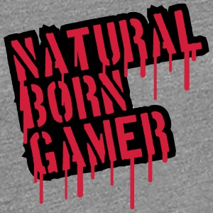 Natural Born Gamer Graffiti T-Shirts - Women's Premium T-Shirt