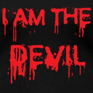 I am the Devil ! T-shirts - Premium-T-shirt dam