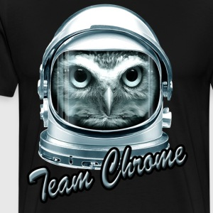 Sort TEAM CHROME T-shirts - Herre premium T-shirt