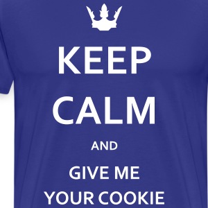 KEEP CALM Cookies - Männer Premium T-Shirt