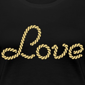 love T-Shirts - Women's Premium T-Shirt