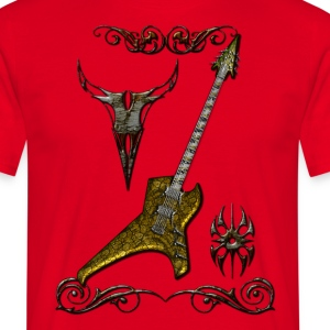 Tribal Guitar 2 - T-shirt Homme