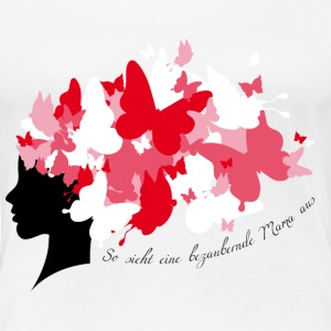 Statement: Blumen statt Diamanten T-Shirts - Frauen Premium T-Shirt