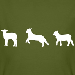 litte lambs, sheep T-Shirts - Men's Organic T-shirt