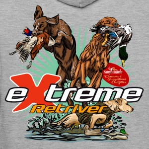 extreme_retriever Sweat-shirts - Sweat-shirt à capuche Premium pour hommes