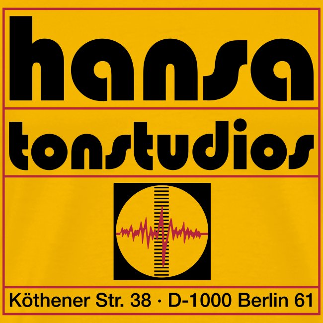 Hansa Studios T-Shirt Boy yellow Vintage