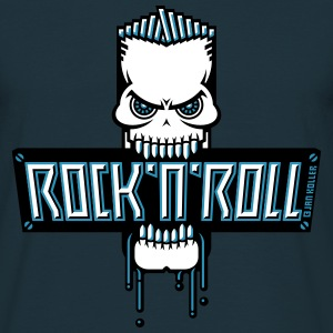 Rock 'n' Roll Skull T-Shirts - Men's T-Shirt