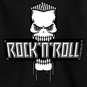 Rock 'n' Roll Totenkopf (Skull) T-Shirts - Teenager T-Shirt