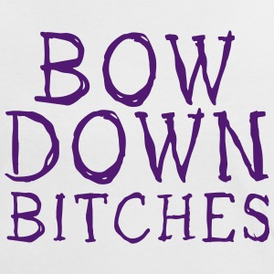 bow down bitches T-Shirts - Women's Ringer T-Shirt