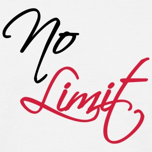 No Limit T-shirts - T-shirt herr