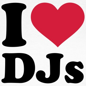 I love DJs T-Shirts - Frauen T-Shirt