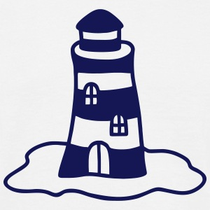 Lighthouse on the island T-Shirts - Men's T-Shirt