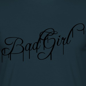 Cool Bad meisje meisje graffiti T-shirts - Mannen T-shirt