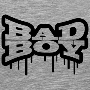 Bathroom graffiti boy bad boy T-Shirts - Men's Premium T-Shirt