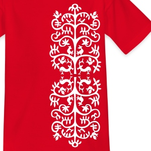 Alte Tier Ornament T-Shirts - Kinder T-Shirt