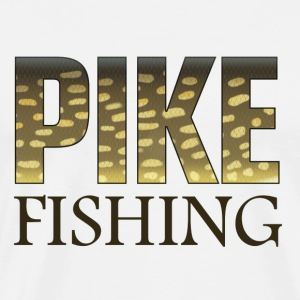 Pike fishing - Premium-T-shirt herr