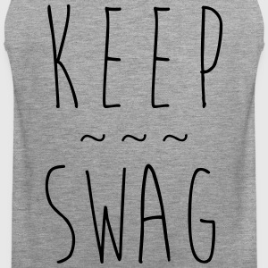 KEEP SWAG - Männer Premium Tank Top