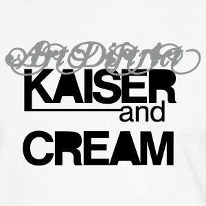 KAISER&CREAM Artists for a lovely world - man - Männer Kontrast-T-Shirt