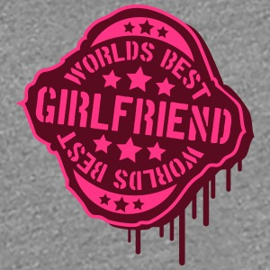 Worlds best Girlfriend Stempel T-Shirts - Women's Premium T-Shirt