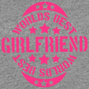 Worlds best Girlfriend Stempel Design T-Shirts - Frauen Premium T-Shirt