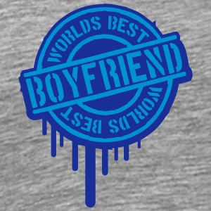Stempel Worlds best Boyfriend Graffiti T-Shirts - Men's Premium T-Shirt
