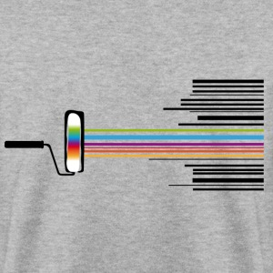 A paint roller with a bar code  Hoodies & Sweatshirts - Men's Sweatshirt