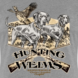 hunting_weims T-Shirts - Women's Premium T-Shirt