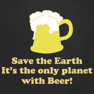 save earth and beer T-Shirts - Men's V-Neck T-Shirt