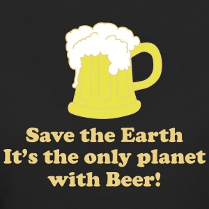 save earth and beer Tee shirts - T-shirt Bio Femme