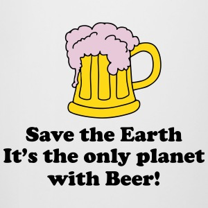 save earth and beer Bottles & Mugs - Beer Mug