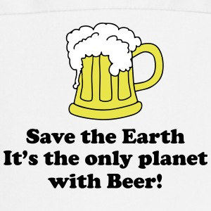 save earth and beer Schürzen - Kochschürze
