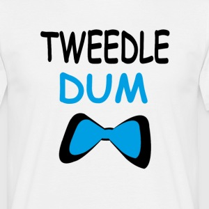 Tweedle dum T-Shirts - Men's T-Shirt