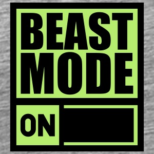 Power On An Beast Mode T-Shirts - Männer Premium T-Shirt