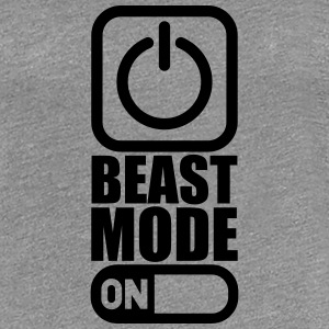On Power An Beast Mode T-Shirts - Frauen Premium T-Shirt