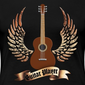 acoustic_guitars_and_wings_052014_a T-Shirts - Frauen Premium T-Shirt