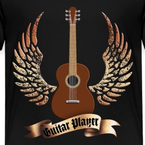 acoustic_guitars_and_wings_052014_a T-Shirts - Kinder Premium T-Shirt