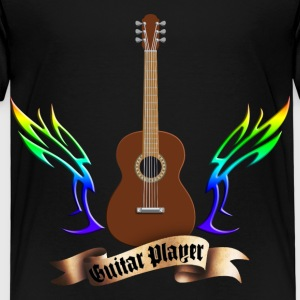 acoustic_guitars_and_wings_052014_b T-Shirts - Kinder Premium T-Shirt