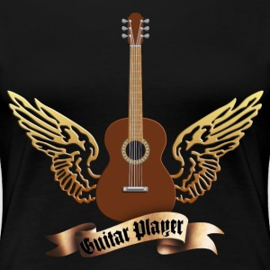 acoustic_guitars_and_wings_052014_c T-Shirts - Frauen Premium T-Shirt