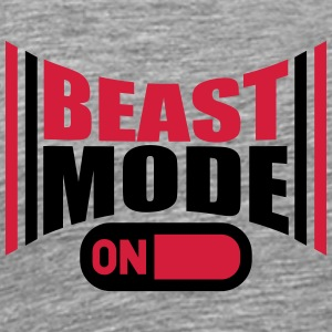 On An Beast Mode Power T-Shirts - Men's Premium T-Shirt