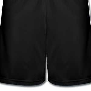 Black St Patty Schildchen / lucky charm clover label (2c) Tops - Men's Football shorts