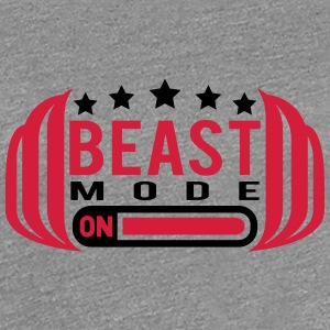 Cool Beast Mode On Design T-Shirts - Women's Premium T-Shirt