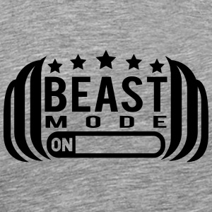 Cool Beast Mode On Design T-Shirts - Männer Premium T-Shirt