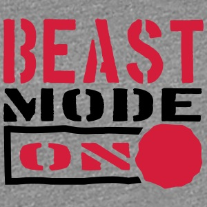 Beast Mode Power On Design T-Shirts - Frauen Premium T-Shirt